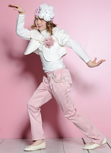 Barbie Ceket Krem